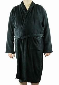 peignoir grande taille peignoir noir homme 100 coton grande taille all size
