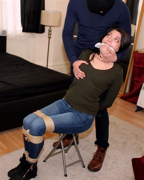 Hogtied And Facefucked