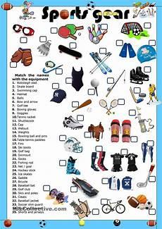 sports equipment worksheets 15781 sports gear sports