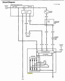 alternator wiring diagram honda alternator help honda tech honda discussion