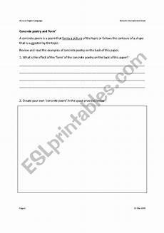 concrete poetry worksheets printable 25341 worksheets concrete poetry
