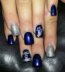 mi estilo dallas cowboys nail designs dallas cowboys