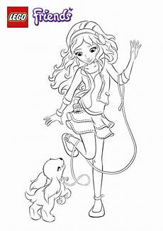 lego friends coloring pages getcoloringpages