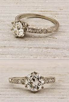 antique engagement rings onewed com