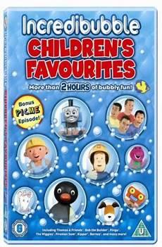 children s favourites incredibubble dvd zavvi