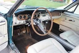1965 MUSTANG FASTBACK GT HIPO K CODE TROPICAL TURQU0ISE