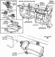 repair windshield wipe control 1995 ford explorer engine control repair guides windshield wipers windshield wiper motor autozone com