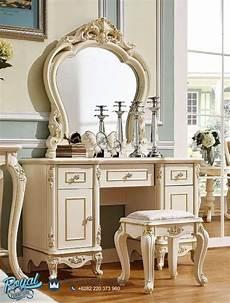 meja rias mewah terbaru klasik harga murah royal furniture jepara