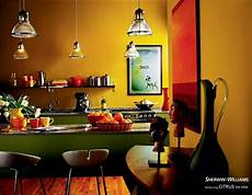 resolve to warm up your home with a warm shade like citrus sw 6906 mexican interior design