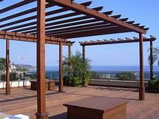 tettoie per terrazzi in legno terrazzi in legno pergole e tettoie da giardino