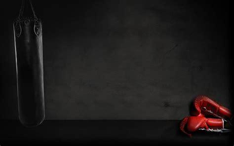 Black Boxing Gloves Wallpaper