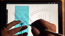 procreate app architectural drawing tips quick menu streamline youtube