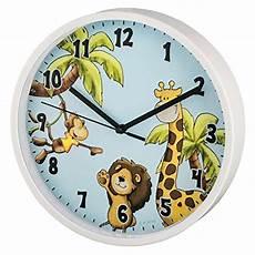 Hama Kinder Wanduhr Ohne Ticken Safari Analoge Uhr