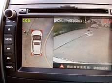 bird view car parking system 360 degrees seamless surround