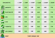 prix diagnostics immobiliers obligatoires vente location