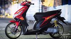 Modifikasi Beat Karbu by Modifikasi Honda Beat Babylook