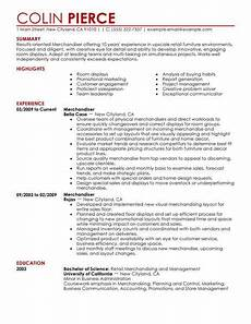 best merchandiser retail representative part time resume