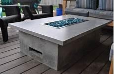 gartentisch mit feuerstelle outdoor feuertisch aus beton selber bauen diese anleitung