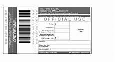 certified mail return receipt template shows form 3800 certified mail receipt