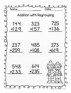 addition with carry worksheets for grade 3 9220 2 digit and 3 digit addition and subtraction with regrouping bundle