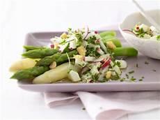 spargelsalat tim mälzer kochbuch vegetarische spargelrezepte eat smarter