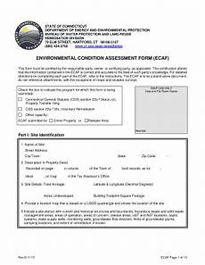 fillable online ct environmental condition assessment form