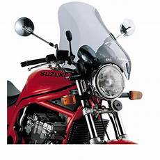 givi universal 4 point motorcycle screen smoked a34