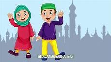 Koleksi Gambar Mewarnai Islami Untuk Anak Tk Dan Sd