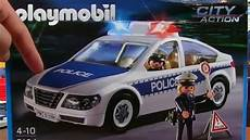 playmobil car with emergency lights