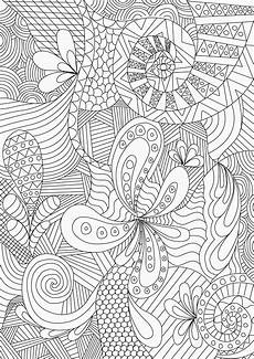 zentangle colouring pages in the playroom