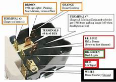 68 c10 parking lights turn signals and brake lights do