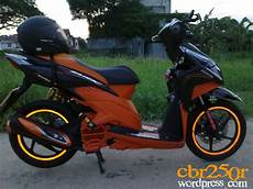 Modifikasi Vario 2010 by Modif Vario Techno Ala Click B O Edition Arif Setiawan