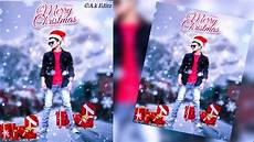 merry christmas photo online editing merry christmas picsart editing picsart christmas special photo editing 2019 youtube