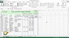 excel workshop kassenbuch tutorial einfache rechnungen