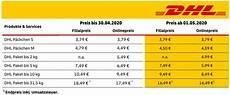 dhl macht portoerh 246 hung zum 1 mai 2020 wieder r 252 ckg 228 ngig