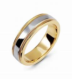 yellow and white gold wedding ring modern two tone ring 14k white yellow gold wedding band wedding bands bridal jewelry