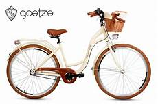 Hollandrad Mit Korb Vorne - fahrr 228 der city damenfahrrad mit korb citybike retro