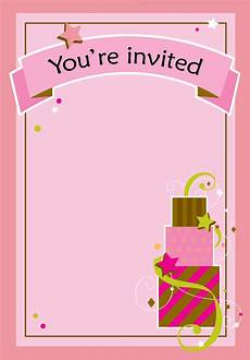 free printable birthday invitation cards templates free printable birthday invitation cake