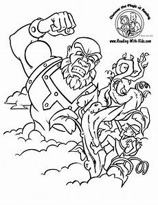 fractured tales coloring pages 14938 and the beanstalk coloring sheet fairytale fairytales crafts coloring page