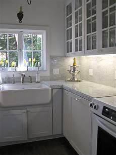 Carrara Marble Kitchen Backsplash Carrara Marble Backsplash Homesfeed