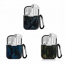 Camouflage Silicone Earphone With Keychain Xiaomi by Vvxx Shockproof Silicone Earphone Protective Cover