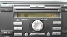 ford focus 1 6 2006 radio 6000 cd code 00