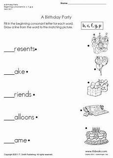 birthday object worksheet 20250 snapshot image of a birthday beginning consonant worksheet atividades de matem 225 tica