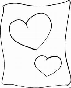 Gratis Malvorlagen Herzen Zwei Herzen Ausmalbild Malvorlage Comics