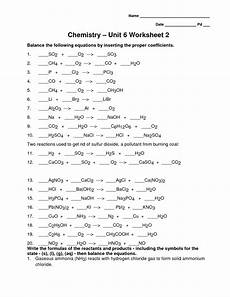 chemistry unit 11 worksheet 3 printable worksheets and activities for teachers parents