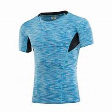 s elasticity sport t shirt sleeve top