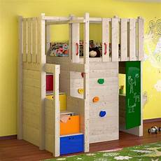 indoor play tower loft bed wardrobe climbing wall