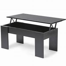 table basse avec plateau table basse avec plateau relevable bois noir ebay