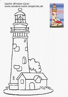 Uschi Window Color Malvorlagen Instagram Leuchtturm Vorlagen Leuchtturm Zeichnung