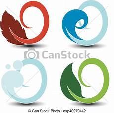 simbolos naturales concepto simbolos naturales vectores fuego aire agua tierra elementos circulares de la naturaleza